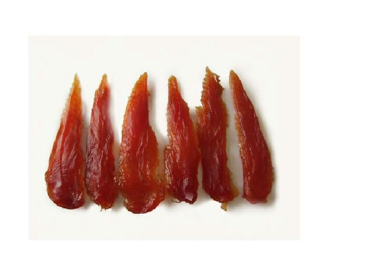 Pamlsok mäkké prúžky z kuracieho mäsa