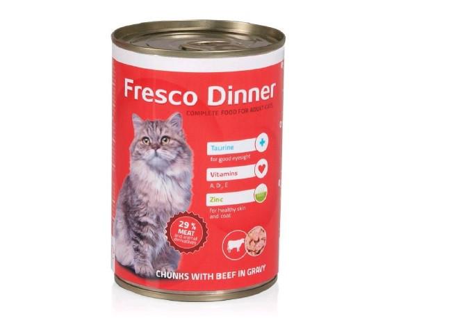 Konzerva FRESCO Dinner Cat