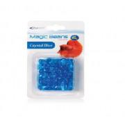 Dekoračné kamienky plast – modré